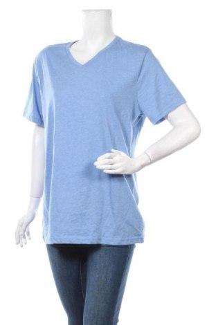 Дамска тениска Brilliant, Размер XXL, Цвят Син, Памук, полиестер, Цена 12,29лв.