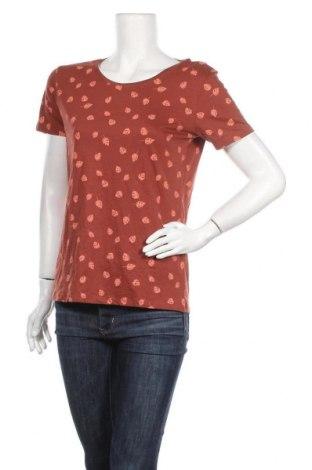Дамска тениска C&A, Размер M, Цвят Кафяв, Памук, Цена 12,60лв.