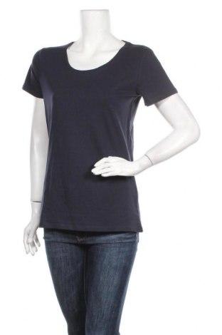 Дамска тениска C&A, Размер M, Цвят Син, 95% памук, 5% еластан, Цена 15,12лв.