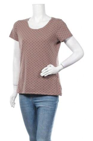 Дамска тениска C&A, Размер M, Цвят Кафяв, 95% памук, 5% еластан, Цена 16,07лв.