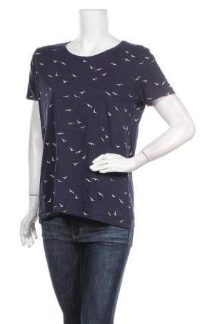 Дамска тениска C&A, Размер L, Цвят Син, Памук, Цена 15,75лв.