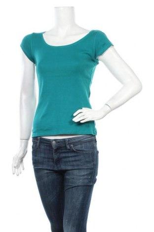 Дамска тениска Camaieu, Размер S, Цвят Зелен, Цена 8,98лв.