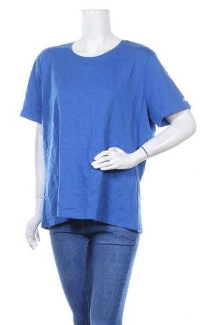 Γυναικείο t-shirt Champion, Μέγεθος XXL, Χρώμα Μπλέ, Βαμβάκι, Τιμή 9,87€
