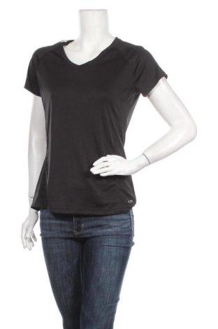 Γυναικείο t-shirt Champion, Μέγεθος M, Χρώμα Μαύρο, Πολυεστέρας, Τιμή 11,04€