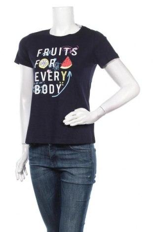 Дамска тениска Cheer, Размер XS, Цвят Син, 60% модал, 40% памук, Цена 16,80лв.