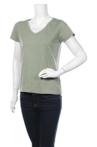 Дамска тениска Chicoree, Размер L, Цвят Зелен, 60% памук, 35% полиестер, 5% еластан, Цена 4,41лв.