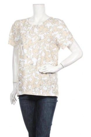 Γυναικείο t-shirt Christopher & Banks, Μέγεθος L, Χρώμα Πολύχρωμο, 95% βαμβάκι, 5% ελαστάνη, Τιμή 14,36€