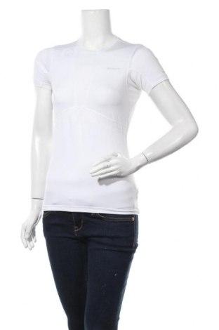Дамска тениска Columbia, Размер XS, Цвят Бял, 91% полиестер, 9% еластан, Цена 34,91лв.