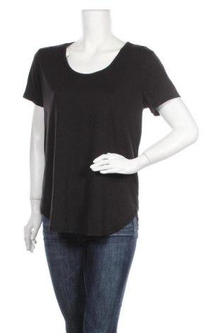 Дамска тениска Cotton On, Размер XL, Цвят Черен, 73% полиестер, 22% лиосел, 5% еластан, Цена 16,80лв.