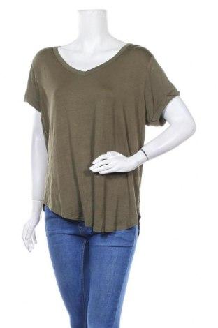 Дамска тениска Cotton On, Размер XL, Цвят Зелен, Вискоза, Цена 10,40лв.