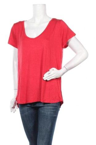 Дамска тениска Cotton On, Размер XL, Цвят Червен, 95% вискоза, 5% еластан, Цена 25,94лв.