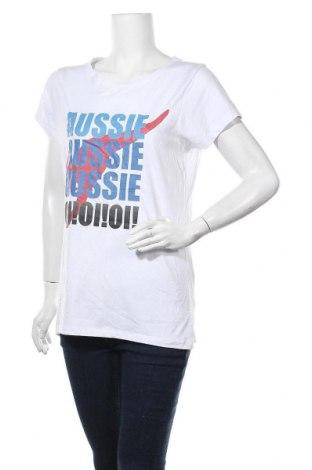 Дамска тениска Crane, Размер XXL, Цвят Бял, Памук, Цена 11,34лв.