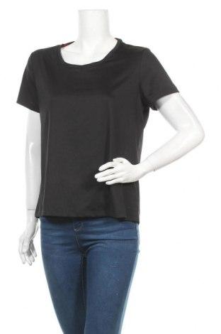 Дамска тениска Crane, Размер XL, Цвят Черен, 90% полиестер, 10% еластан, Цена 8,03лв.