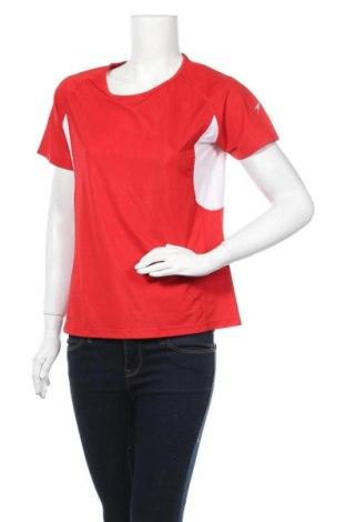 Дамска тениска Crane, Размер XL, Цвят Червен, 95% полиестер, 5% еластан, Цена 10,24лв.