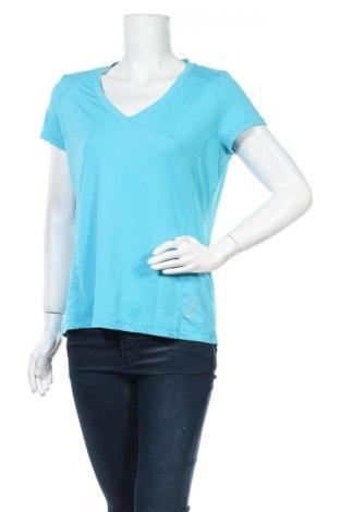 Дамска тениска Crivit, Размер L, Цвят Син, 89% полиестер, 11% еластан, Цена 15,96лв.