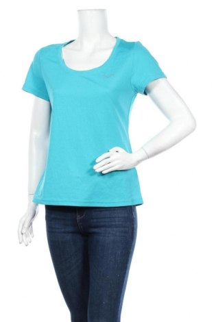 Дамска тениска Crivit, Размер M, Цвят Син, 100% полиестер, Цена 13,23лв.