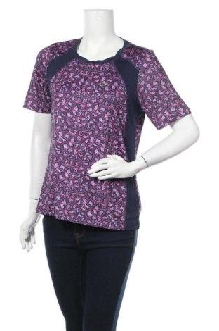 Дамска тениска Crivit, Размер M, Цвят Лилав, 91% полиестер, 9% еластан, Цена 16,07лв.
