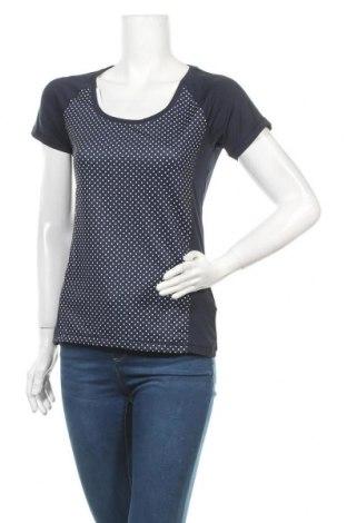 Дамска тениска Crivit, Размер S, Цвят Син, 88% полиестер, 12% еластан, Цена 6,30лв.
