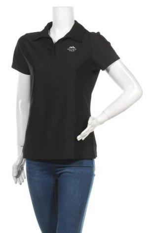 Дамска тениска Crivit, Размер M, Цвят Черен, Полиестер, Цена 4,73лв.