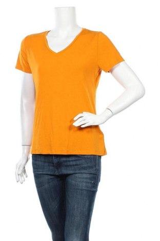 Дамска тениска Cubus, Размер M, Цвят Оранжев, 95% модал, 5% еластан, Цена 11,76лв.
