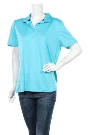 Дамска тениска Cutter & Buck, Размер XXL, Цвят Син, Полиестер, Цена 14,18лв.