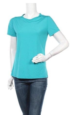 Дамска тениска Danskin, Размер M, Цвят Син, 83% полиестер, 17% еластан, Цена 4,73лв.