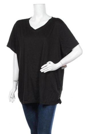 Дамска тениска Danskin, Размер 3XL, Цвят Черен, 80% полиестер, 20% памук, Цена 19,11лв.