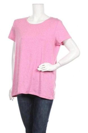 Дамска тениска Denver Hayes, Размер XXL, Цвят Розов, 95% памук, 5% еластан, Цена 4,20лв.