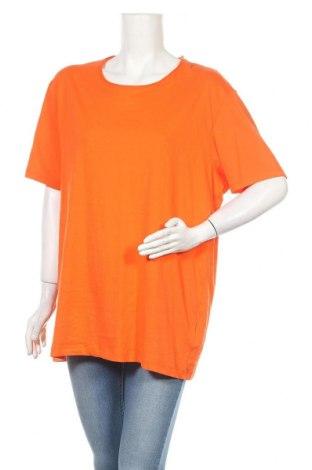 Дамска тениска Edc By Esprit, Размер XL, Цвят Оранжев, Памук, Цена 6,30лв.