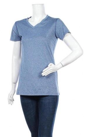 Дамска тениска Eddie Bauer, Размер M, Цвят Син, Цена 17,85лв.