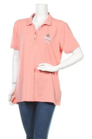 Дамска тениска Eibsee, Размер XXL, Цвят Розов, 60% полиестер, 35% памук, 5% еластан, Цена 3,94лв.