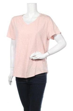 Дамска тениска Emerson, Размер XL, Цвят Розов, Памук, Цена 13,44лв.