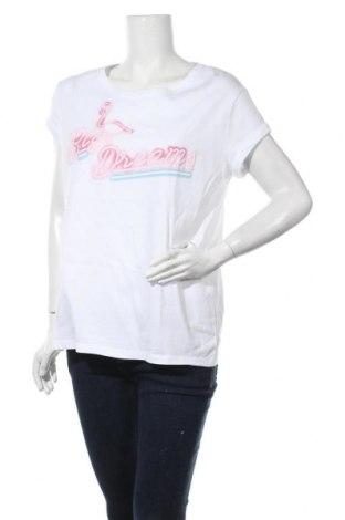 Дамска тениска Esprit, Размер L, Цвят Бял, Цена 14,70лв.
