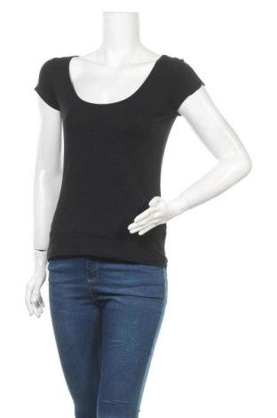 Дамска тениска Filippa K, Размер M, Цвят Черен, 90% памук, 10% еластан, Цена 30,35лв.
