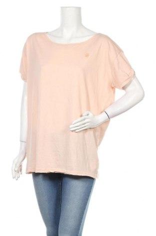 Дамска тениска G-Star Raw, Размер S, Цвят Розов, 60% памук, 40% полиестер, Цена 8,40лв.