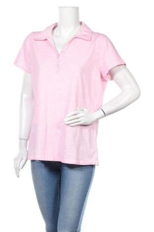 Γυναικείο t-shirt Gina Laura, Μέγεθος L, Χρώμα Ρόζ , Τιμή 4,09€
