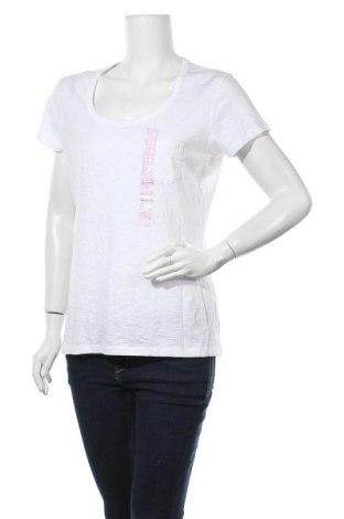 Дамска тениска Girl Xpress, Размер XL, Цвят Бял, Памук, Цена 23,94лв.