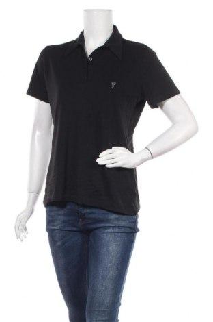 Γυναικείο t-shirt Golfino, Μέγεθος L, Χρώμα Μαύρο, 95% πολυεστέρας, 5% ελαστάνη, Τιμή 14,81€
