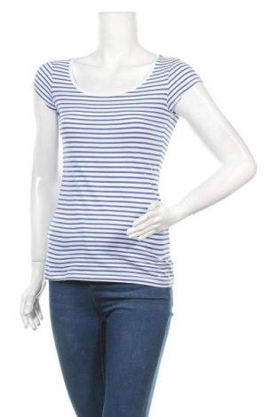 Дамска тениска H&M L.O.G.G., Размер S, Цвят Бял, Памук, Цена 13,23лв.