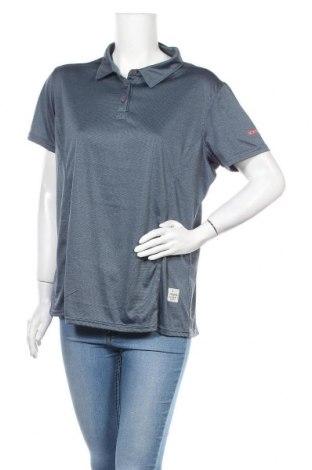 Дамска тениска Icepeak, Размер XXL, Цвят Син, Полиестер, Цена 4,73лв.