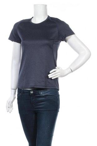 Дамска тениска J.Lindeberg, Размер M, Цвят Син, Полиестер, Цена 13,70лв.