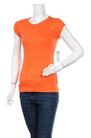Дамска тениска Jcp, Размер M, Цвят Оранжев, 100% памук, Цена 20,58лв.