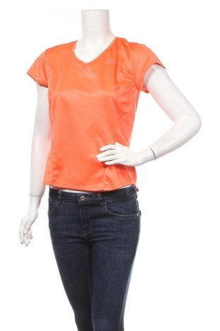 Дамска тениска Kalenji, Размер L, Цвят Оранжев, Полиестер, Цена 4,46лв.