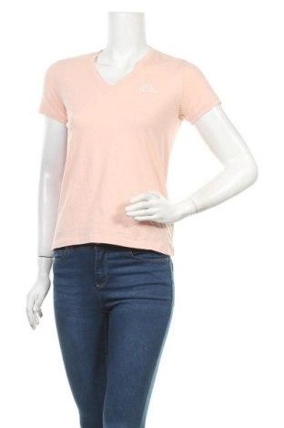 Дамска тениска Kappa, Размер S, Цвят Розов, 95% памук, 5% еластан, Цена 12,97лв.