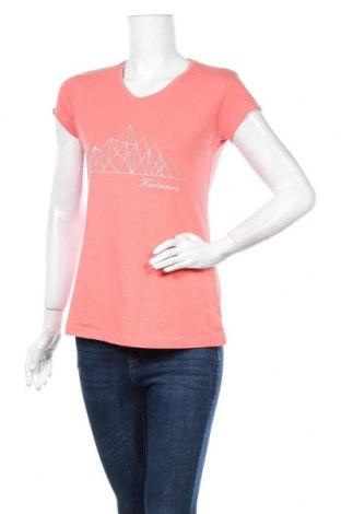 Дамска тениска Karrimor, Размер M, Цвят Розов, 56% памук, 39% полиестер, 5% еластан, Цена 14,70лв.