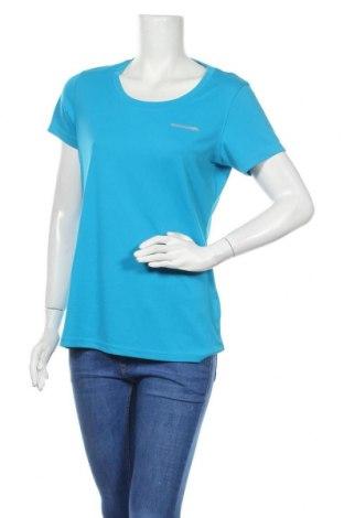 Дамска тениска Kilimanjaro, Размер L, Цвят Син, Полиестер, Цена 16,07лв.
