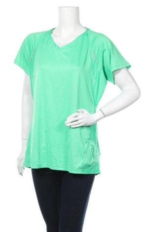 Дамска тениска Kirkland, Размер XL, Цвят Зелен, 89% полиестер, 11% еластан, Цена 10,92лв.