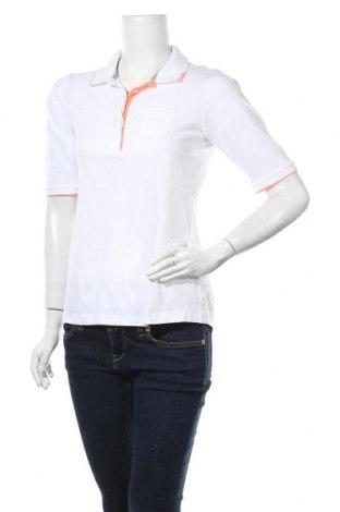 Дамска тениска Kjus, Размер M, Цвят Бял, 60% полиамид, 40% памук, Цена 35,49лв.