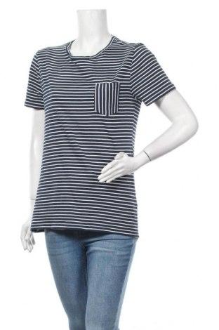 Дамска тениска La Redoute, Размер L, Цвят Син, Памук, Цена 16,80лв.