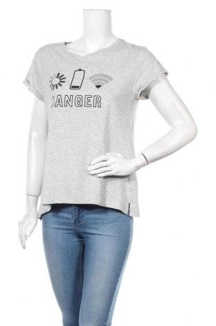 Дамска тениска Lager 157, Размер M, Цвят Сив, 95% памук, 5% еластан, Цена 16,80лв.